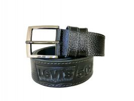 Кожаный ремень Levi's 501 black_2
