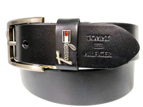 Ремень кожаный Tommy Hilfiger 1377 black