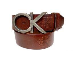 Ремень кожаный Calvin K 1388 _0