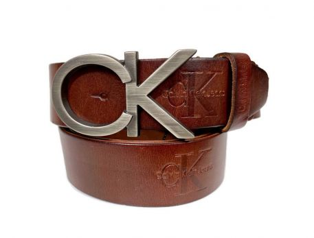 Ремень кожаный Calvin K 1388