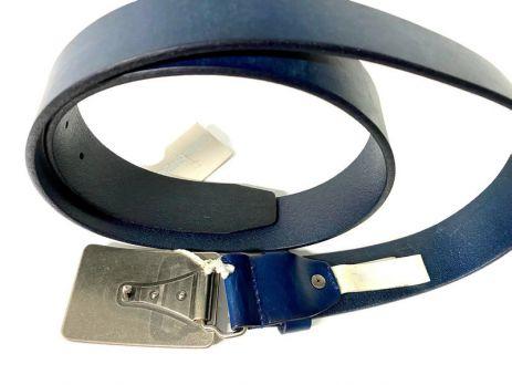 Ремень кожаный Diesel blue 1390