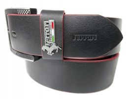 Ремень брендовый Ferrari 1406 black_1