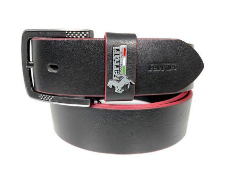 Ремень брендовый Ferrari 1406 black