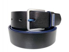 Ремень кожаный брендовый Bk 1410 black_1