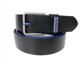 Ремень кожаный брендовый Bk 1410 black_0