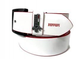 Ремень брендовый Ferrari 1417 white_2