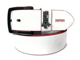 Ремень брендовый Ferrari 1417 white_3
