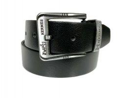 Ремень кожаный брендовый Hermes 1427_1