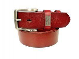 Ремень кожаный брендовый Boss 1428_0