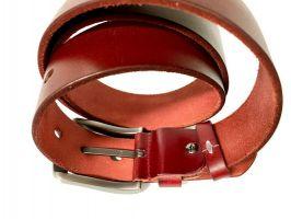 Ремень кожаный брендовый Boss 1428_3