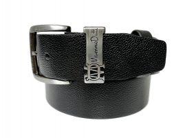 Ремень кожаный брендовый Massimo Dutti 1430_2