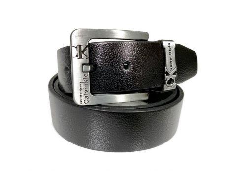 Ремень кожаный брендовый Calvin K 1431