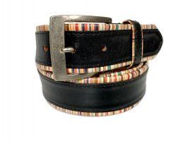 Ремень кожаный брендовый Paul Smith 1435_1