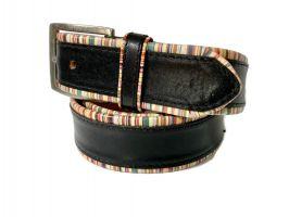 Ремень кожаный брендовый Paul Smith 1435_2