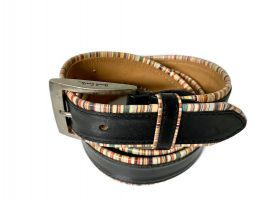 Ремень кожаный брендовый Paul Smith 1435_3