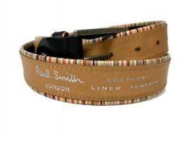 Ремень кожаный брендовый Paul Smith 1435_5