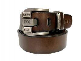 Ремень кожаный брендовый Levis 1436_0