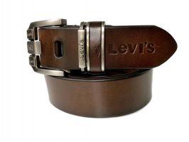 Ремень кожаный брендовый Levis 1436_2