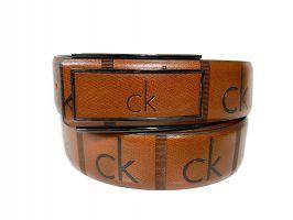 Ремень кожаный брендовый Calvin K 1438