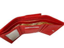 Кошелёк женский кожаный Petek 8072 E Red_7