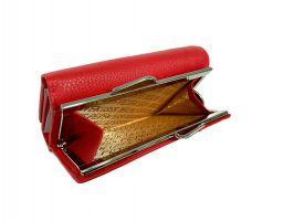 Кошелёк женский кожаный Petek 8072 E Red_4