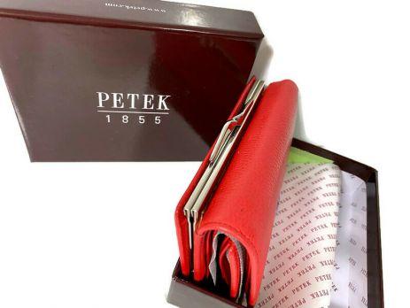 Кошелёк женский кожаный Petek 8072 E Red