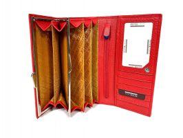 Кошелёк женский кожаный Petek 8071 E Red_7