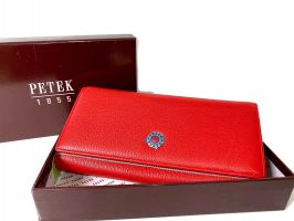 Кошелёк женский кожаный Petek 8071 E Red_0