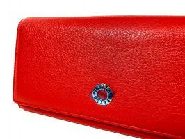Кошелёк женский кожаный Petek 8071 E Red_3