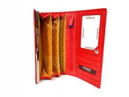 Кошелёк женский кожаный Petek 8071 E Red_6