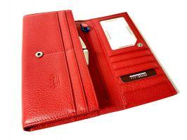 Кошелёк женский кожаный Petek 8071 E Red_8