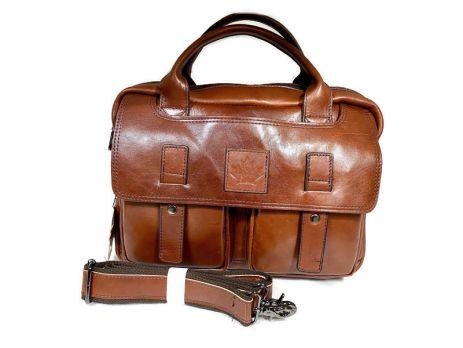 Портфель мужской кожаный ZZNick 33553