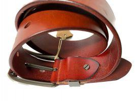 Ремень кожаный брендовый Levis 1448_3