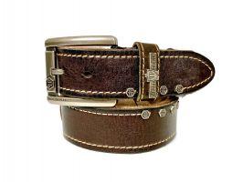 Ремень кожаный брендовый Philipp Plein 1450