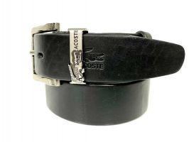 Ремень кожаный брендовый Lacoste 1452_2