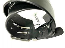 Ремень кожаный брендовый Lacoste 1452_3