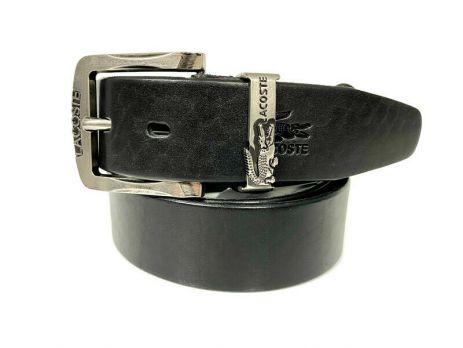 Ремень кожаный брендовый Lacoste 1452