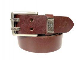 Ремень кожаный брендовый Armani 1456