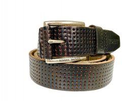 Ремень кожаный брендовый Tommy Hilfiger 1458_1