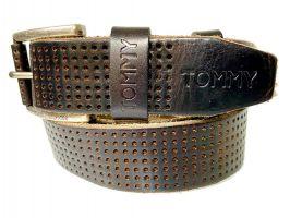 Ремень кожаный брендовый Tommy Hilfiger 1458_2