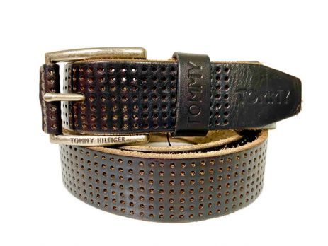 Ремень кожаный брендовый Tommy Hilfiger 1458