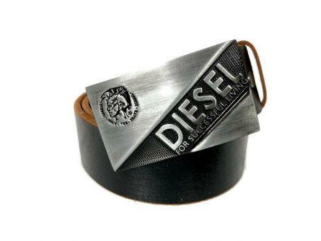 Ремень кожаный брендовый Diesel 1459