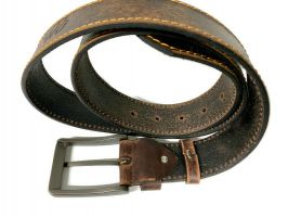 Ремень кожаный брендовый Wrangler 1460_2