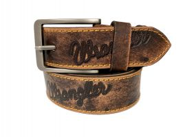 Ремень кожаный брендовый Wrangler 1460_0