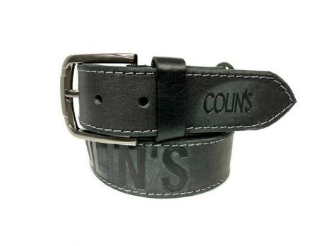 Ремень кожаный брендовый Colins 1464