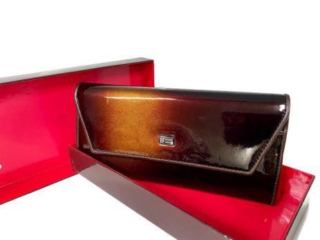 Кошелек кожаный женский Wanlima 72040930473A1 Coffee