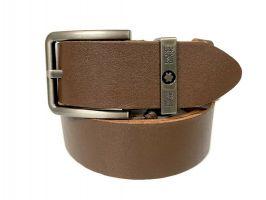 Ремень кожаный брендовый Montblanc brown 1468