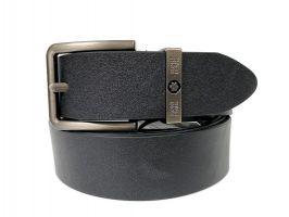 Ремень кожаный брендовый Montblanc black 1469_0