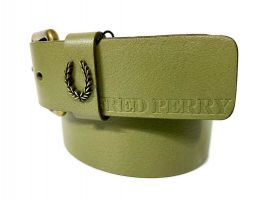 Ремень кожаный брендовый Fred Perry 1471_2