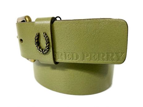 Ремень кожаный брендовый Fred Perry 1471